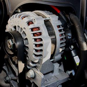alternator and starter